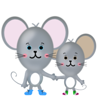 Molly&Mabel Mouse